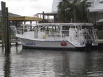 barco de visión submarina fueraborda