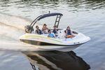 deck-boat fueraborda / de wakeboard / 10 personas máx.