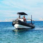 barco de trabajo fueraborda / embarcación neumática