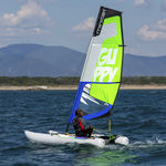 catamarán deportivo hinchable / doble / desmontable
