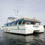 barco de pasajeros / catamarán / intraborda / de aluminio