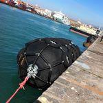 defensa para puerto / para buque / de muelle / Yokohama