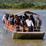 barco de pasajeros / fueraborda / de aluminio / jon boat