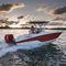 barco open fueraborda / de pesca deportiva / 8 personas máx. / con T-top222 FISHERMANWellcraft