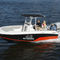 barco open fueraborda / con consola central / 8 personas máx. / con T-top202 FISHERMAN Wellcraft