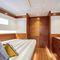 yate de vela de crucero / con popa abierta / de carbono / con doble rueda de timón