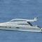 yate a motor de crucero / con hard-top / casco de planeo
