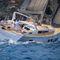 yate de vela de gran crucero / con popa abierta / con 6 literas / con doble rueda de timón