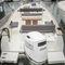 barco open fueraborda / casco de planeo / con consola central / open