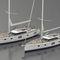 yate de vela de crucero / con deck saloon / con 3 camarotes / con bauprés