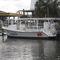 barco de visión submarina fueraborda36' Glass Bottom BoatNewton Boats