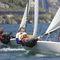 monocasco / velero de quilla deportivo / monotipo / con popa abierta