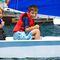 vela ligera solitario / doble / para escuela / cat boat