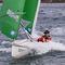 monocasco / velero de quilla deportivo / con popa abierta / de doble timón