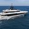 superyate de crucero / con caseta de timón / de aluminio / de acero