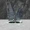 monocasco / day-sailer / velero de quilla deportivo / con popa abierta