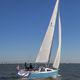 monocasco / de regata / day-sailer / con popa abierta