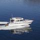 barco cabinado intraborda / con hard-top