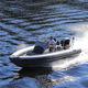 embarcación neumática fueraborda / RIB / con consola central / 8 personas máx.