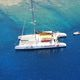 catamarán / de chárter / con popa abierta / con deck saloon
