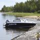 runabout fueraborda / bow-rider / de pesca / de aluminio