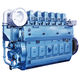 motor para buque de propulsión / de velocidad media / diésel