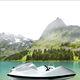 go-kart acuático para centro de ocio / eléctrico