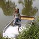 bote de aluminio / fueraborda