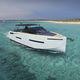 barco cabinado fueraborda / cuatrimotor / open / con doble consola