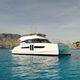 barco cabinado catamarán / intraborda / con fly / con 2 camarotes