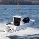 cabin-cruiser fueraborda / con hard-top / con caseta de timón / de pesca deportiva