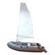 embarcación neumática fueraborda / RIB / plegable / sail-drive
