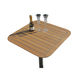 mesa para barco / para yate / de teca