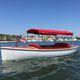 bote fueraborda / eléctrico / de fibra de vidrio / clásico