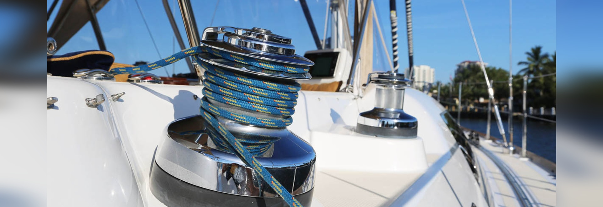 Como proteger el Winch de la embarcación