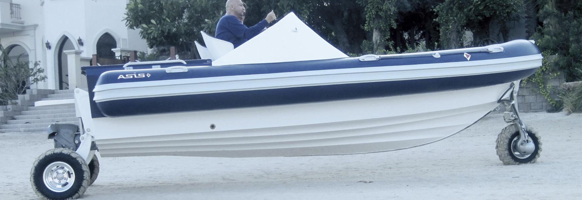 Gama anfibia de Asis Boats