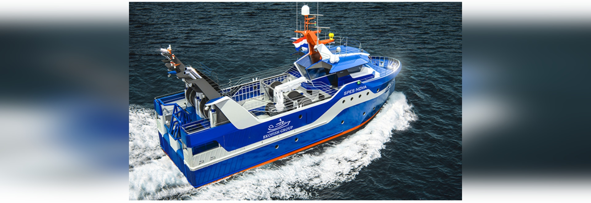 Los proveedores del nuevo barco pesquero diesel-eléctrico de Ekofish anunciaron