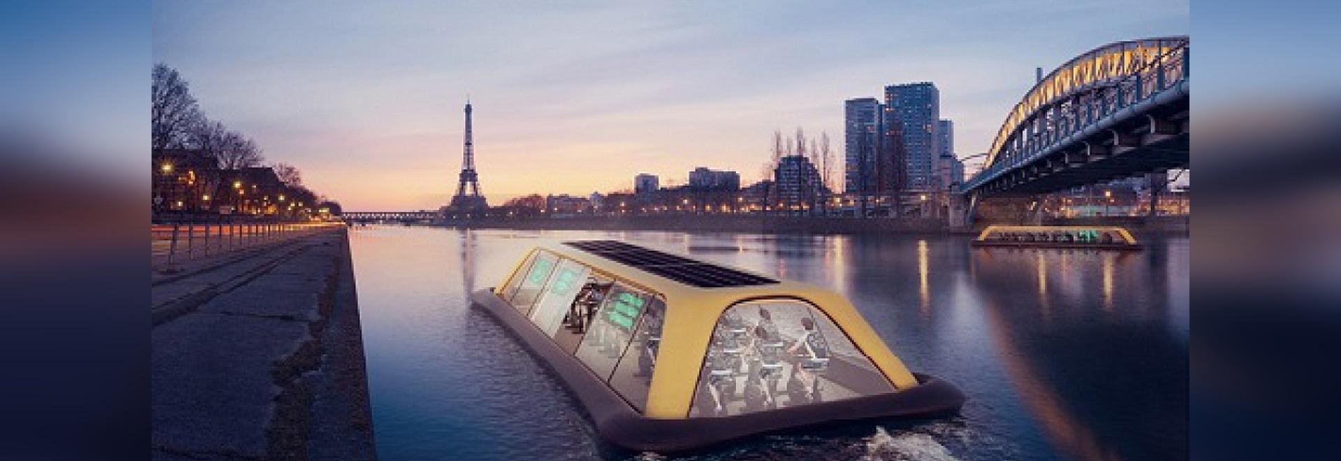 El proyecto de navegación del gimnasio de París (cortesía de Carlo Ratti Associati)