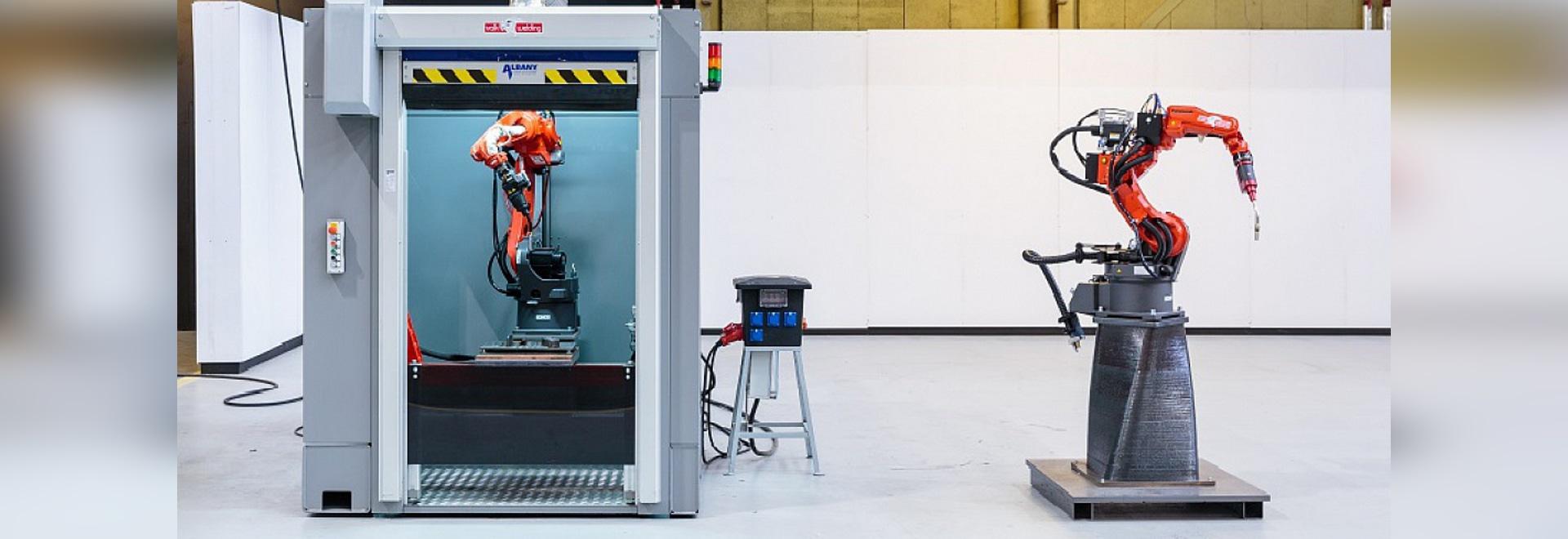 El puerto de las impresoras del metal del 3D de Rotterdam (cortesía de RAMLAB)