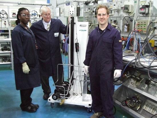 Entrenamiento hidráulico del torno de Brevini Reino Unido y NFPC