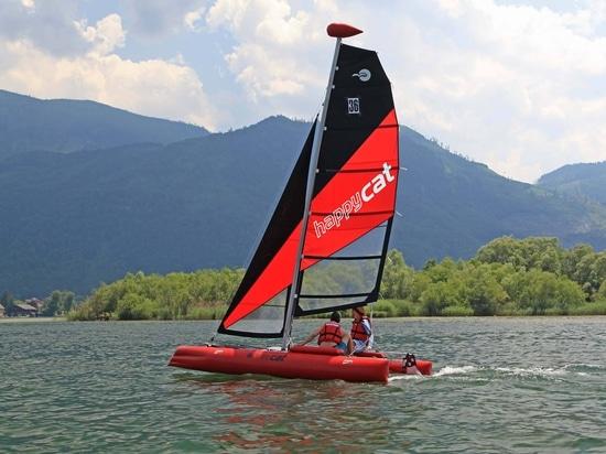 NUEVO flotador del Masthead para el catamarán portátil FELIZ del CAT