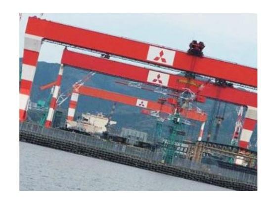 Movimientos pesados de Mitsubishi a continuación con alianzas de la construcción naval