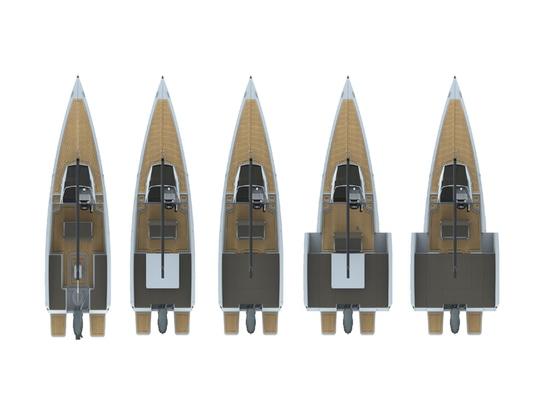 Un barco, muchas opciones: El nuevo velero motorizado Nuva MS6
