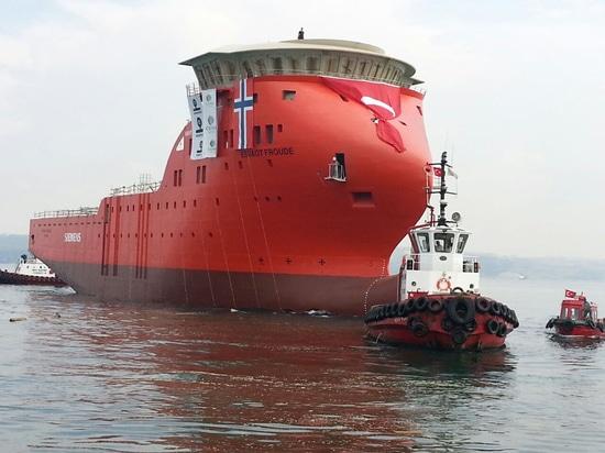 NUEVO: buque de apoyo costa afuera de Cemre Shipyard