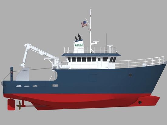 Recipiente nuevo de la investigación de las industrias pesqueras: ARCTICUS