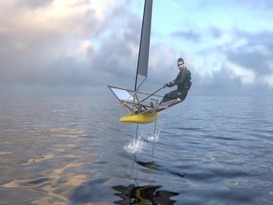 El proyecto de bambú del barco (cortesía de Guillaume Dupont)