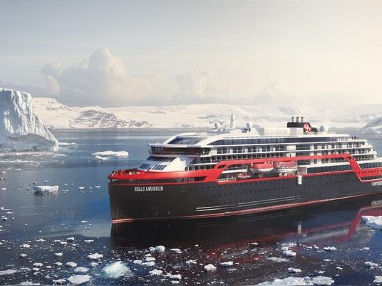 Hurtigruten lanza el nuevo barco de cruceros híbrido