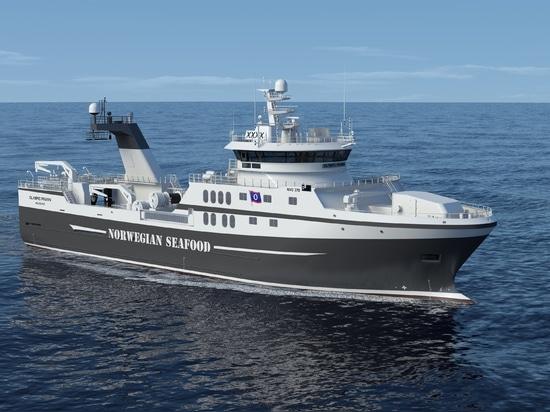 Rolls Royce para entregar el equipo diesel-eléctrico de la propulsión al nuevo barco pesquero