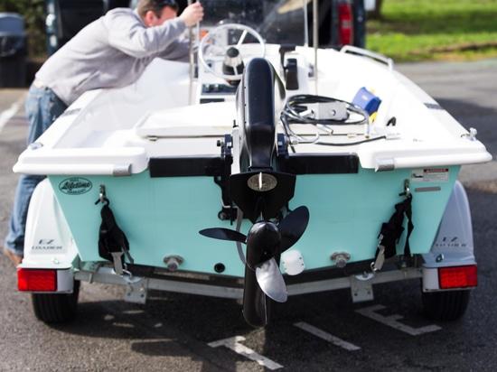 El Watercraft puro revela la nueva batería para el motor eléctrico