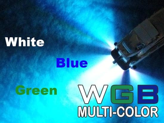 La luz subacuática EQUATOR también en WGB multicolor